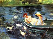 Mary Cassat: L'été. 1894. Armand Hammer Museum of Art and Cultural Center