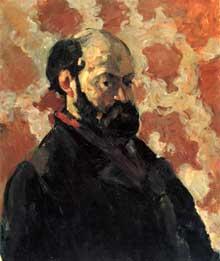 Paul Cézanne: Autoportrait 1875. Huile sur toile, 66 x 55 cm. Collection privée