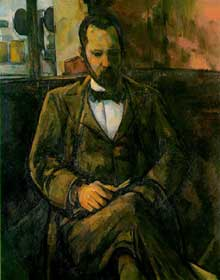 Paul Cézanne: portrait d'Ambroise Vollard. 1899. Huile sur toile. 101 x 81 cm. Paris, Petit Palais, Musée des Beaux-Arts de la Ville de Paris