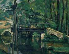 Paul Cézanne: Le Pont de Maincy. 1879. Huile sur toile, 58 cm x 72 cm. Paris, musée d'Orsay