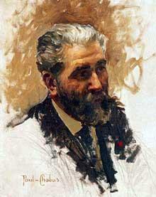 Paul Emile Chabas (1869-1937): portrait de José-Maria de Heredia. Huile sur toile. Versailles, châteaux de Versailles et de Triano