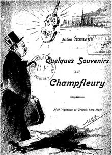 Caricature de Jules Adeline Champfleur