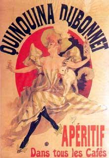 Jules Chéret: affiche pour le Quinquina Dubonnet. 1895