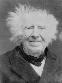 Michel-Eugène Chevreul (1786-1889), sans doute vers 1883, photographié probablement par Félix Nadar
