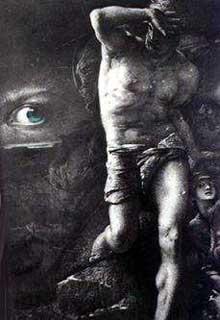 François Chifflart: illustration pour la «conscience» de Victor Hugo