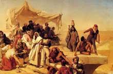 Léon Cogniet: L'expédition d'Égypte sous les ordres de Bonaparte. 1835-1836. Paris, musée du Louvre