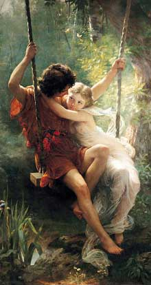 Pierre-Auguste Cot : Printemps. 1873. Floride, Appleton Museum of Art