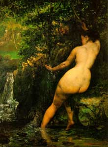 Gustave Courbet : la Source.