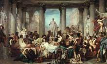 Thomas Couture: Les Romains de la décadence. 1847. Paris, Musée d'Orsay