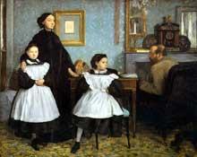 Edgar Degas: La famille Bellelli. 1858-1860. Paris, Musée d'Orsay