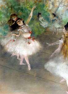 Edgar Degas: Danseuses. 1878. Collection privé
