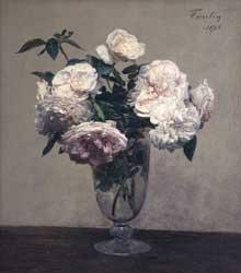 Henri Fantin-Latour: Vase des Roses, Collection of Julian and Josie Robertson, New York