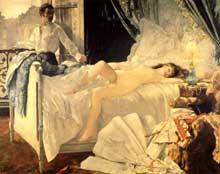 Henri Gervex: Rolla. 1878. Bordeaux, musée des Beaux Arts