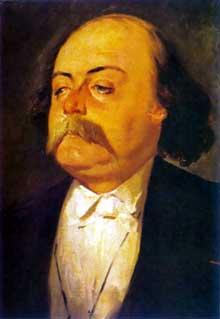 Eugène Giraud (1806-1888): Portrait de Gustave Flaubert. 1867. Huile sur toile, 56 x 46cm. Musée du château de Versaille