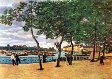Armand Guillaumin: Quai de La Rapée. 1871. Collection Particulière
