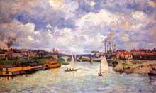 Armand Guillaumin: La Seine à Charenton. 1878. Paris, Musée d'Orsay