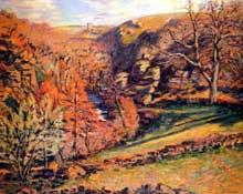 Armand Guillaumin: Le Ravin de la Folie, à Crozant. 1894. Musée du Petit Palais, Genève
