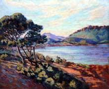 Armand Guillaumin: La baie d'Agay. Vers 1910. Collection particulière