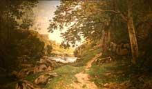 Henri Joseph Harpignies: Paysage. 1869. New York, Metropolitan Museum
