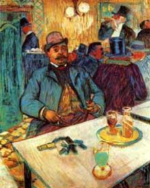 Henri de Toulouse-Lautrec: monsieur Boileau. 1893. Huile sur toile. Cleveland, Museum of Art