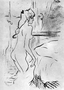 Henri de Toulouse Lautrec: illustration pour «la Revue Blanche»