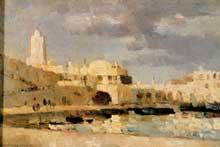 Albert Lebourg: le port d'Alger. 1876. Huile sur toile, 31 x 47 cm. París, musée d'Orsay