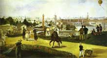 Edouard Manet: l'exposition universelle de 1864. Huile sur toile. Oslo, Nasjonalgalleri