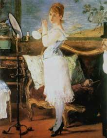 Edouard Manet: Nana. 1877. Huile sur toile, 154 cm x 115 cm. Hambourg, Kunsthalle