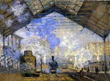 Claude Monet : Londres, le pont de Waterloo, temps gris. 1900. Huile sur toile, 93 cm x 64 cm. Chicago, Art Institute.