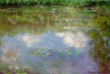 Claude Monet : nymphéas. 1903. Collection privée
