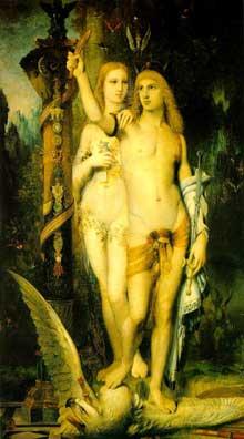 Gustave Moreau: Jason. 1865. Huile su toile, 204 x 115.5 cm. Paris, Musée d'Orsay
