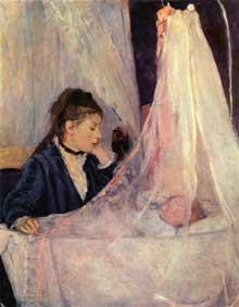 Berthe Morisot: Le Berceau. 1872. Paris, Musée d'Orsay
