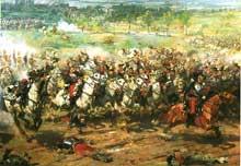 Aimé Morot: la charge des cuirassiers de Reichshoffen