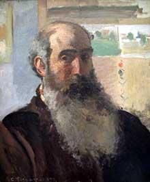 Camille Pissarro: Autoportrait. 1873. Huile sur toile, 47 x 56 cm. Paris, Musée d'Orsay