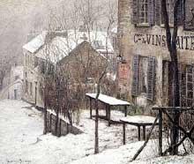 Pierre Prins: Le Lapin Agile. Huile sur toile. 1890. Paris, musée Carnavalet