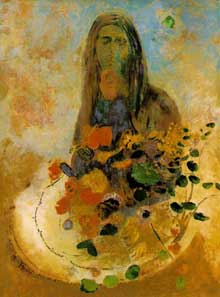 Odilon Redon : Mystère. Non date. Huile sur toile, 73 x 53,9 cm. Washington, The Phillips Collection