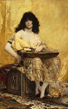 Henri Regnault : Salomé. 1870. New York,  Metropolitan Museum of Art
