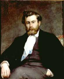 Auguste Renoir: Portrait de Sisley. Zurich, E.G. Buhrle Collection