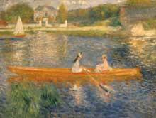 Auguste Renoir: canotage sur la Seine. 1879-1880. Huile sur toile, 92 cm x 71 cm. Londres, National Gallery
