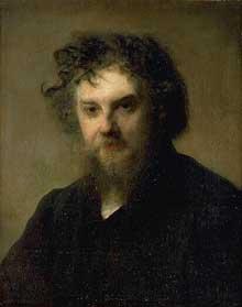 Louis Gustave Ricard: portrait du peintre Léon Faure. Toulouse, musée des Augustins