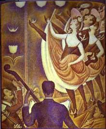 Georges Seurat: Le Chahut. 1889-1890. Huile sur toile, Otterlo, Rijksmuseum Kröller-Müller