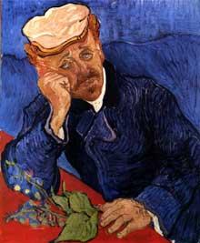 Vincent Van Gogh: portrait du docteur Gachet. Début juin 1890. Huile sur toile, 68 x 57 cm. Paris, musée d'Orsay