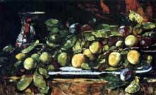 François Vernay: nature morte. 1880. Huile sur toile, 31,8 x 50,5 cm.