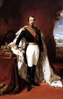 Franz Xaver Winterhalter (d'après): NapoléonIII, empereur des Français, 1855, château de Versailles