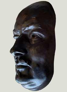 Zacharie Astruc: le marchand de masques. Détail: le masque de Balzac