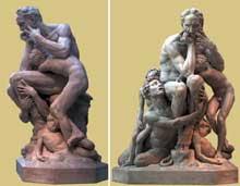 Jean-Baptiste Carpeaux: Ugolin et ses fils. 1862. New York, Metropolitan Museum of Art
