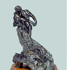 Camille Claudel: La Valse. 1893. Bronze, 43,2 x 23 x 34,3 cm. Paris, Musée Rodin