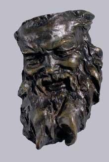 Aimé Jules Dalou: masque de silène.1880-1882. Brème, Kunsthalle