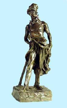 Ratapoil. 1891. Bronze. 43,5 cm. Paris, Musée d'Orsay