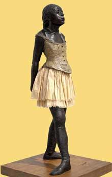 Edgar Degas: La danseuse de 14 ans. 1881. Bronze. Paris, Musée d'Orsay